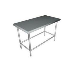 Mesa de trabajo sin repisa de acero inoxidable loza - Mesas de trabajo para cocina ...