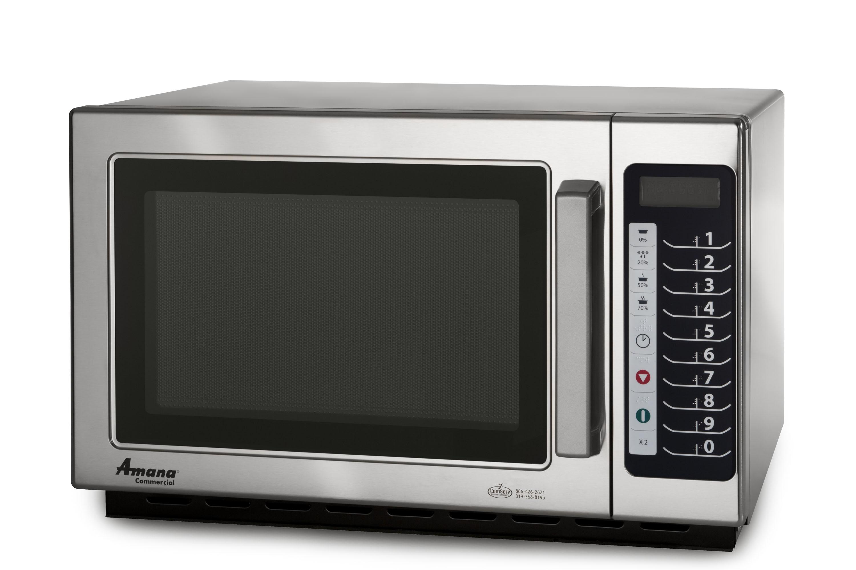 Horno de microondas amana rcs10ts loza cristaleria for Utensilios de cocina para microondas