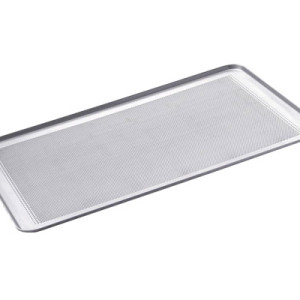 Charola aluminio panadera perforada 30 x loza for Utensilios de cocina de aluminio