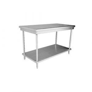 Mesas de trabajo loza cristaleria cubiertos y for Mesas de trabajo para cocina