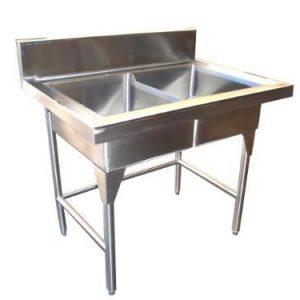 Fregaderos y tarjas loza cristaleria cubiertos y for Fregaderos cocina acero inoxidable